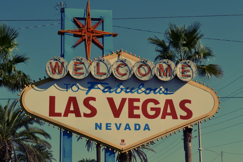 Welcome-to Fabulous Las Vegas Nevada Sign