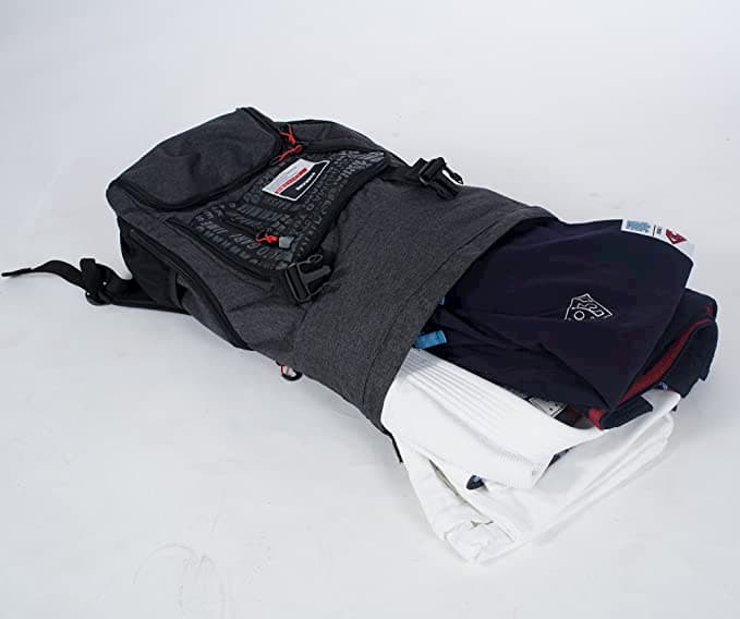93Brand Japao Premium Backpack with gear in it