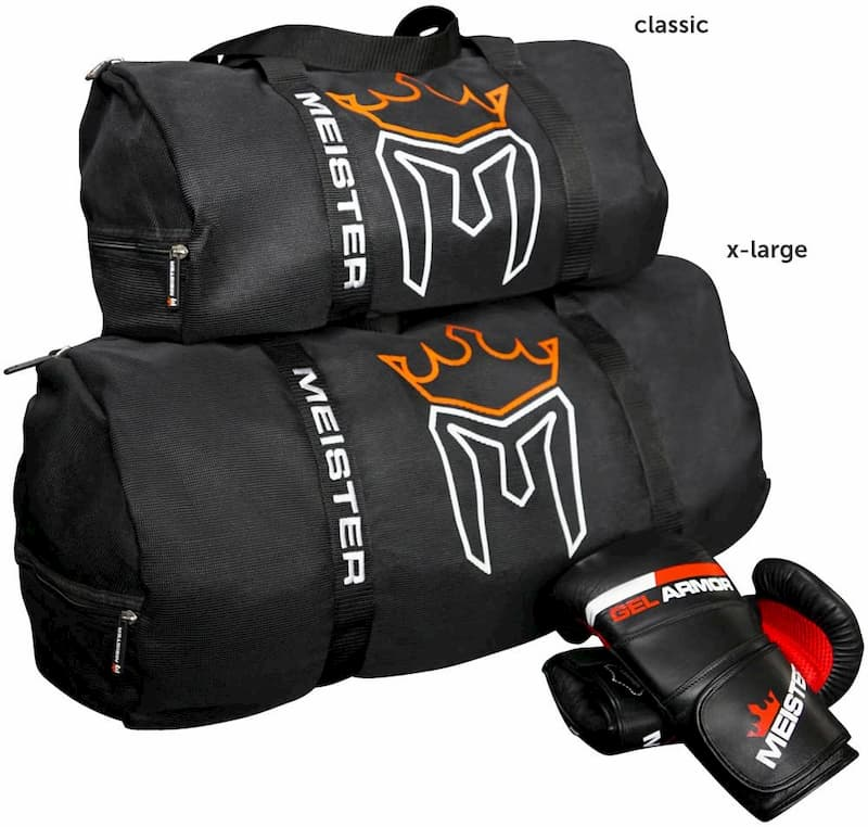 Meister Breathable Chain Mesh Duffle Bag sizes