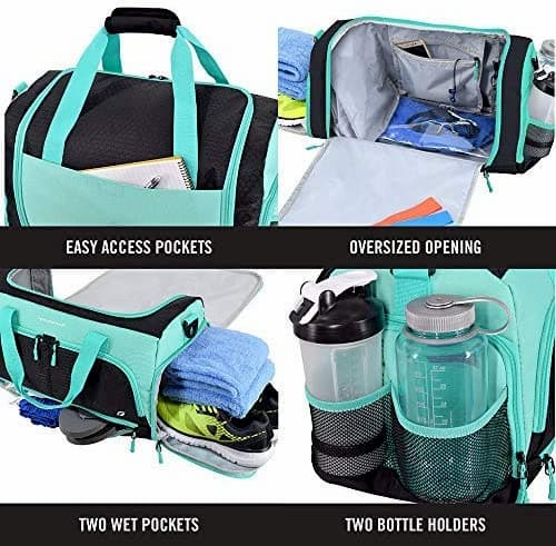 Ultimate Gym Bag 2.0 By Focus Gear Options