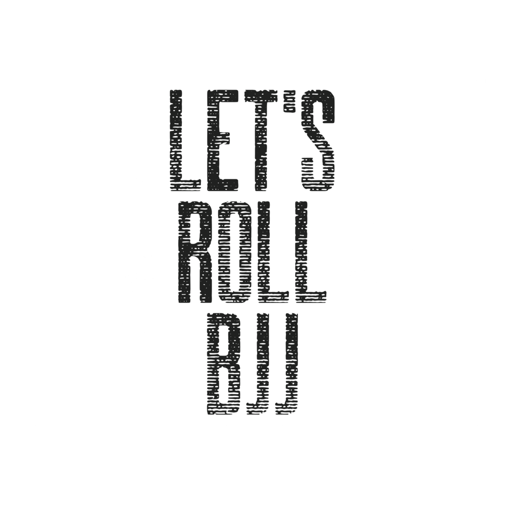 Let's Roll BJJ Logo clear bg