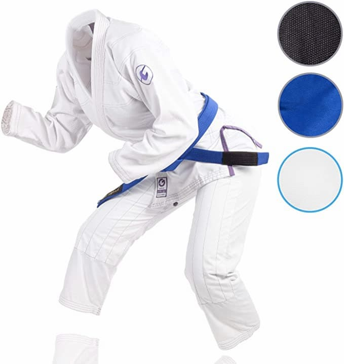 gold bjj womens gi