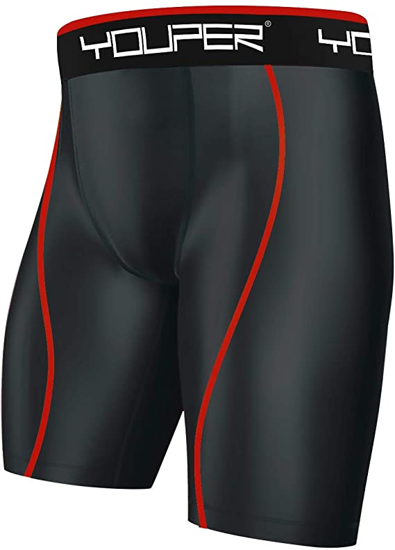 Youper Compression Shorts with Cup Pocket