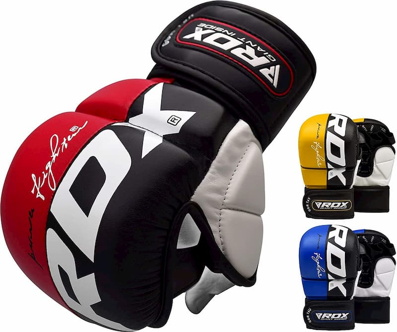 RDX MMA Gloves for Martial Arts Training & Grappling
